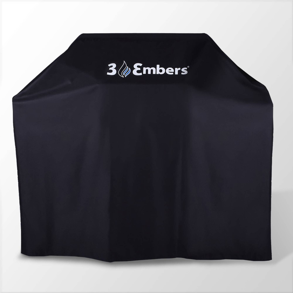Image of 57 Premium Grill Cover Black - 3 Embers
