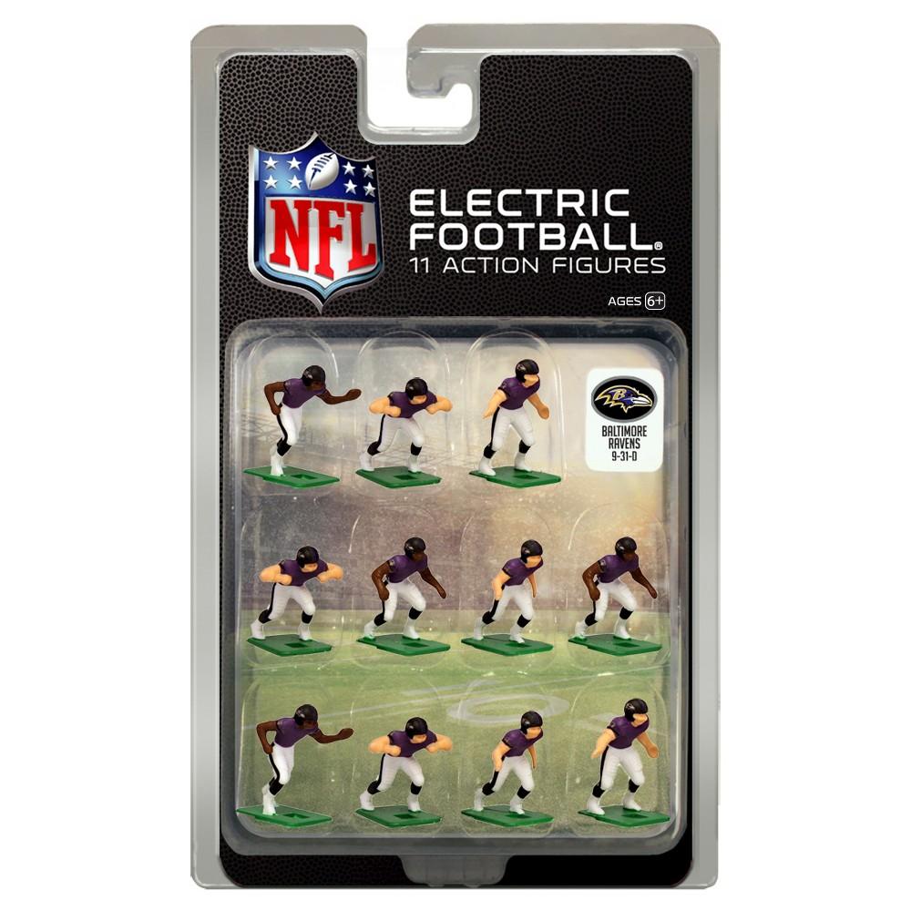 Nfl Baltimore Ravens Tudor Games Home Uniform Electric Football Action Figure Set