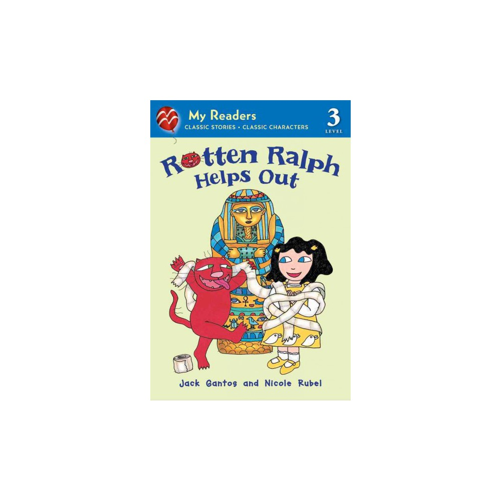 Rotten Ralph Helps Out ( Rotten Ralph: My Readers, Level 3) (Reprint) (Paperback)