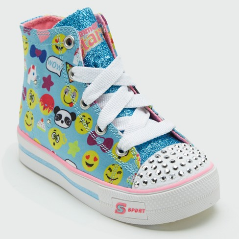 Toddler Girls' S Sport By Skechers Kailey High Top Sneakers - image 1 of 4