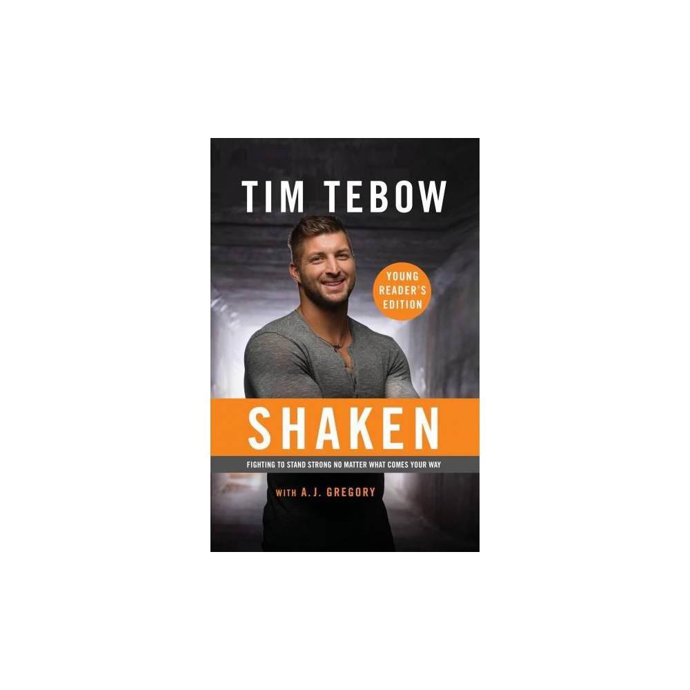 Shaken - by Tim Tebow (Paperback)
