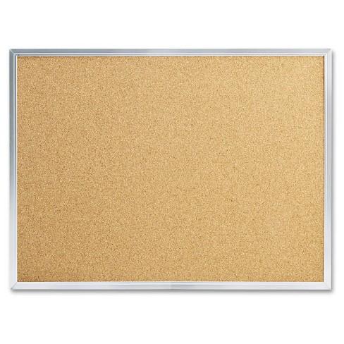 Mead Cork Bulletin Board, 24 x 18, Silver Aluminum Frame - image 1 of 1