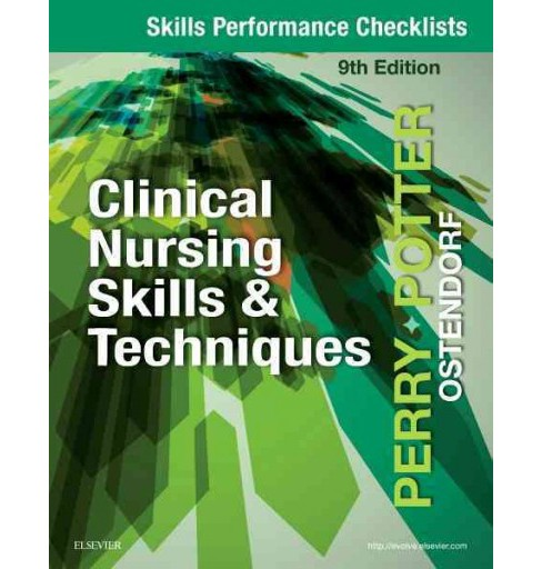 Skills Performance Checklists for Clinical Nursing Skills & Techniques (Paperback) (Anne Griffin Perry) - image 1 of 1