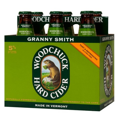 Woodchuck Granny Smith Hard Cider - 6pk/12 fl oz Bottles - image 1 of 1