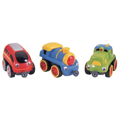 Small World Toys Locomotives Tailgate Trio - Set of 3