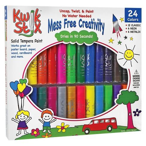 Kwik Stix® Tempera Paint, 24pk - Multicolor - image 1 of 1