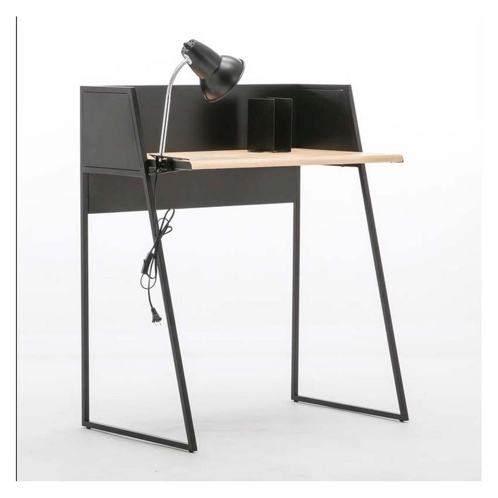 Image of 2pc Aero Desk Set Natural - Boraam, White