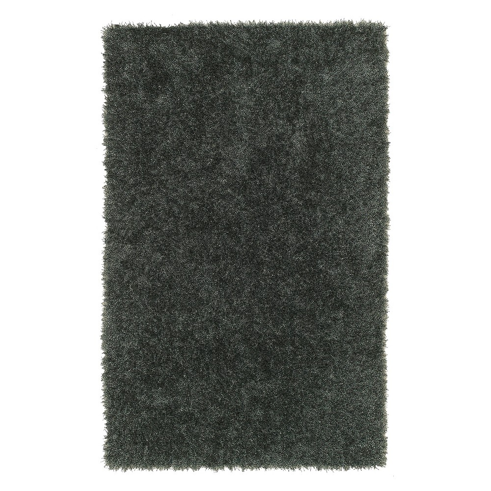 Silky Balloon Yarn Shag Accent Rug - Spa (3'6