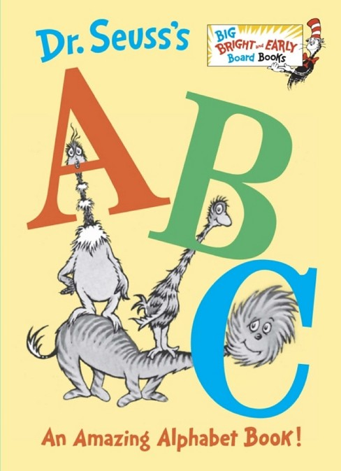 Dr. Seuss's ABC (Big Bright and Early Board Books) - image 1 of 1