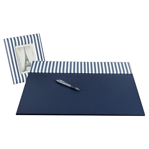 On My Desk® Desk Pad Navy - image 1 of 2