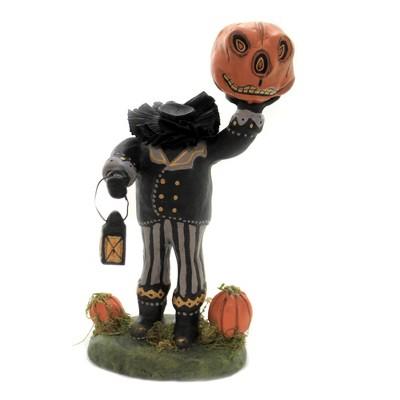 "Charles Mcclenning 9.25"" Headless Horseman Halloween Pumpkin Lantern  -  Decorative Figurines"