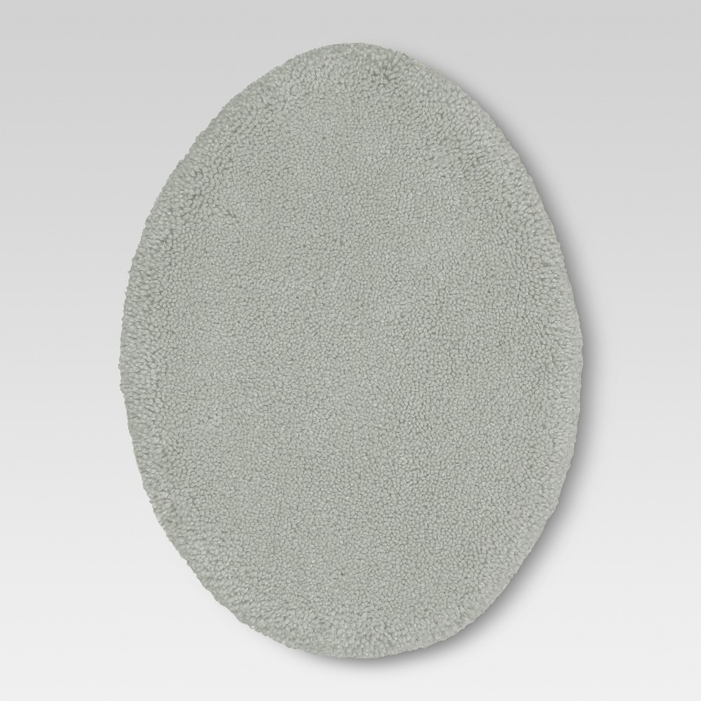 Performance Solid Toilet Lid Cover Classic Gray - Threshold