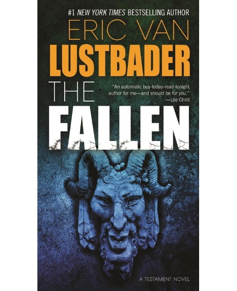 Fallen -  (Testament) by Eric Lustbader (Paperback) - image 1 of 1