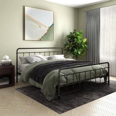 King Bancroft Metal Bed - Room & Joy : Target