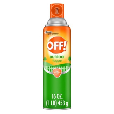 OFF! 16oz Backyard Pretreat Outdoor Fogger
