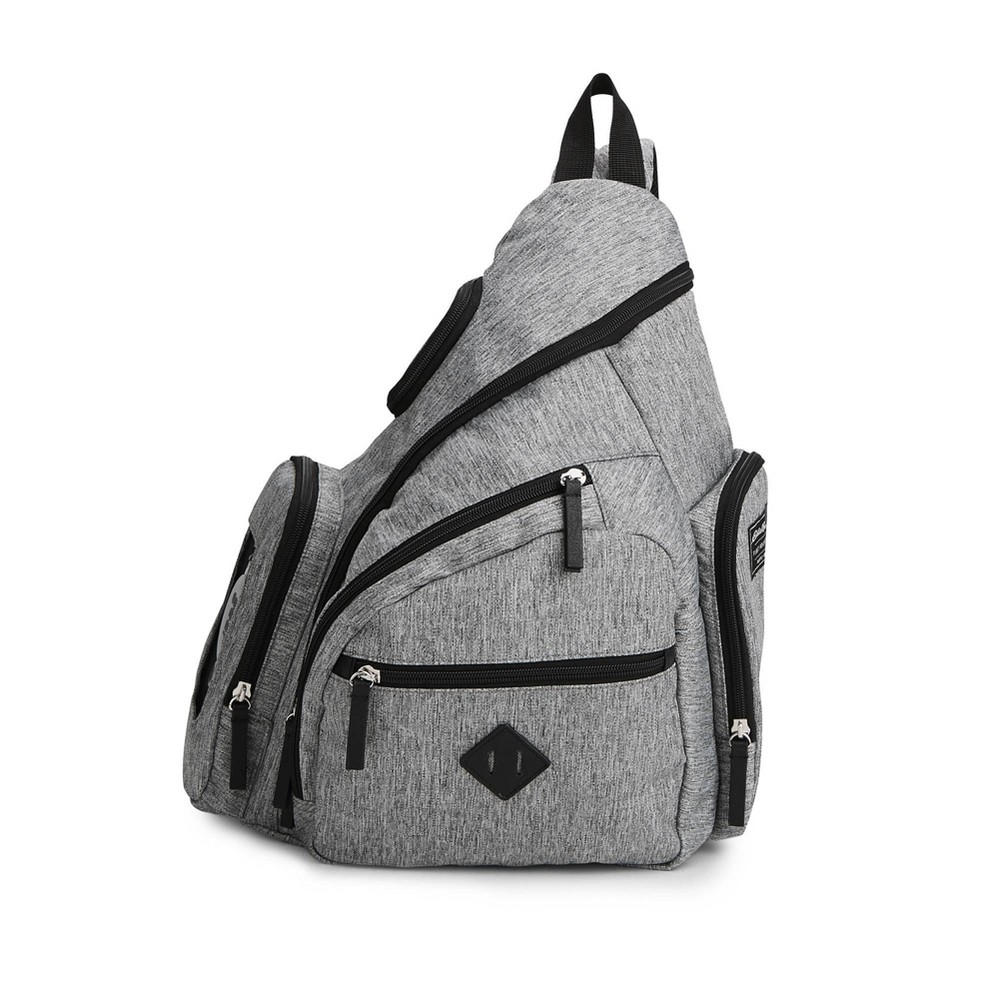 Image of Eddie Bauer Diaper Bag - Solid Gray