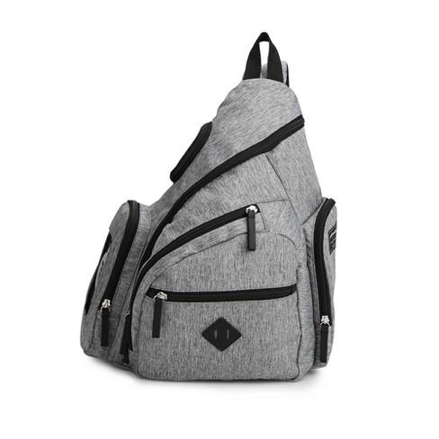 Ed Bauer Diaper Bag Solid Gray