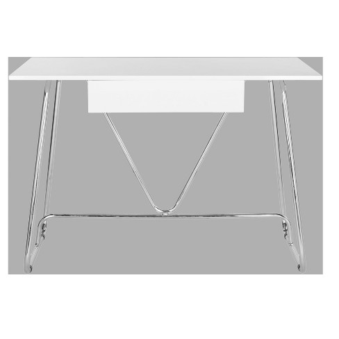Writing Desk White - Safavieh® - image 1 of 4