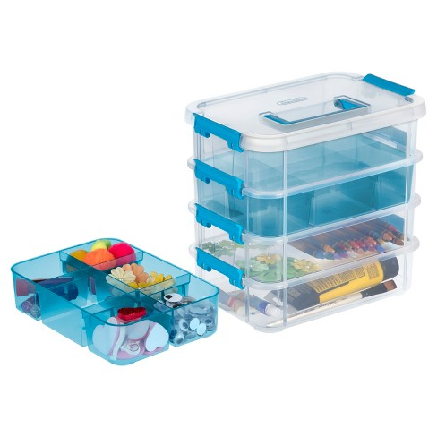 Sterilite® Stacking Caddy Organizer - Clear : Target