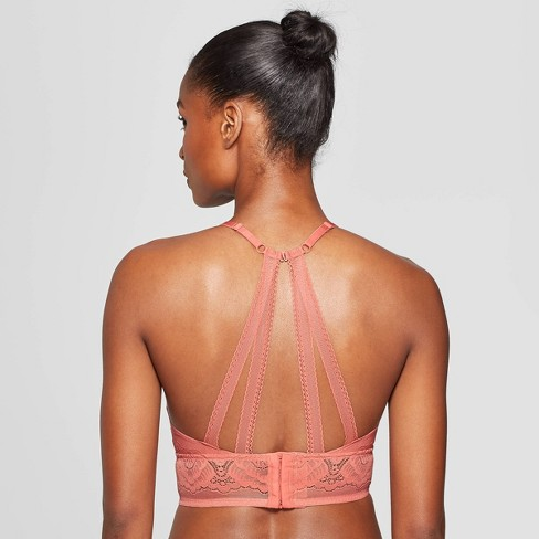 0a7086ed9c Women s Unlined Bralette - Auden™ Faded Rose   Target