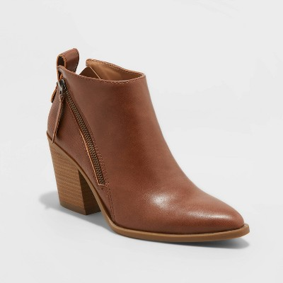 Women's Jayden Double Zip Ankle Bootie - Universal Thread™