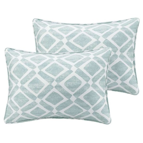 Natalie Printed Oblong Throw Pillow Pair - image 1 of 2