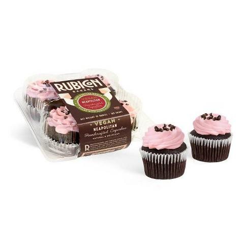 Rubicon Bakery Vegan Neapolitan Cupcakes - 10oz/4ct - image 1 of 1