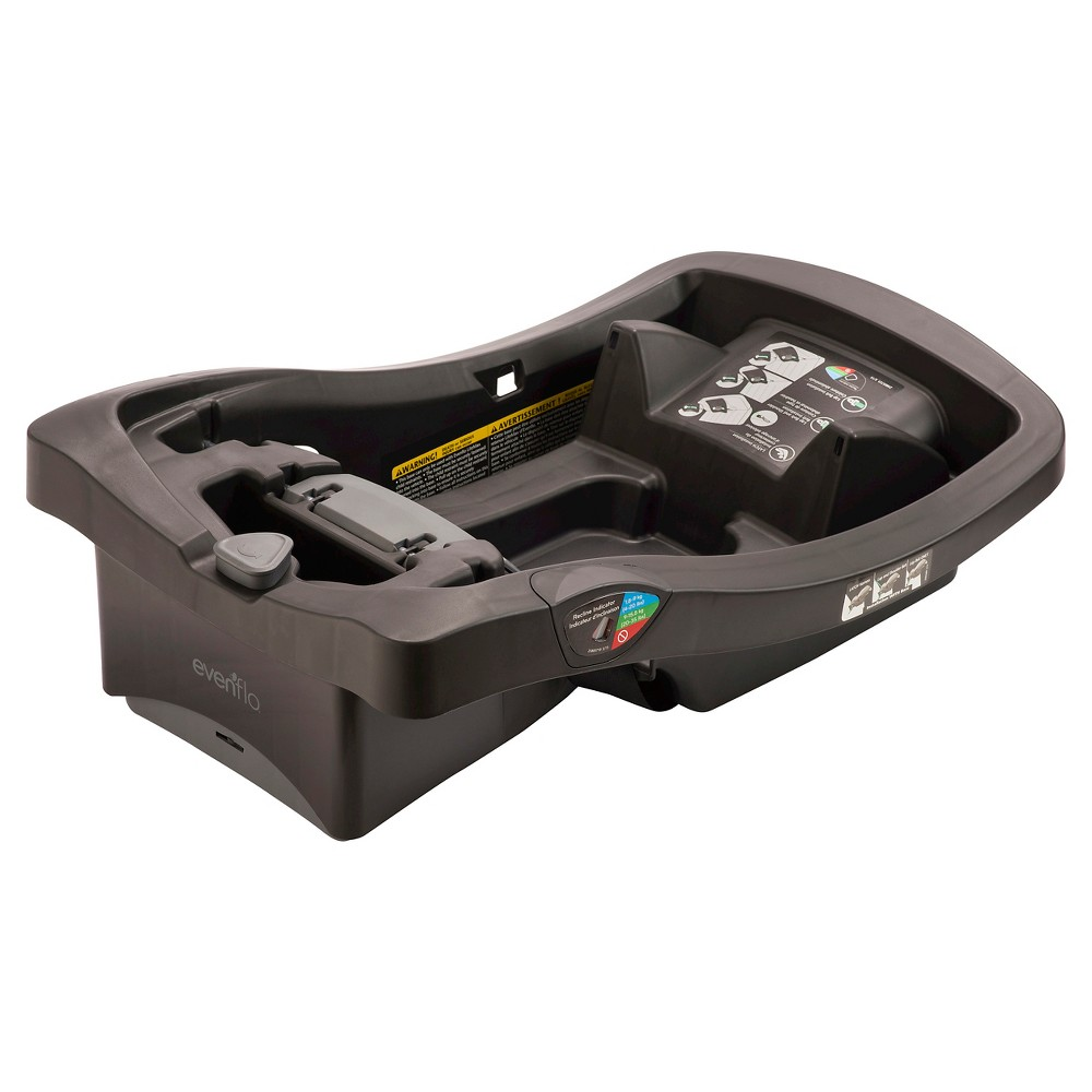 Image of Evenflo LiteMax Infant Car Seat Base, Black