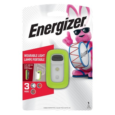 Energizer Wearable LED FlashLight Green