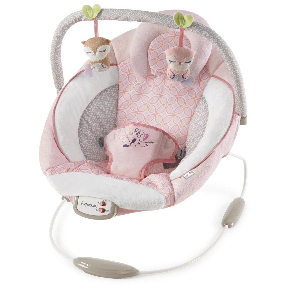 Image of Ingenuity Cradling Bouncer - Audrey, Pink