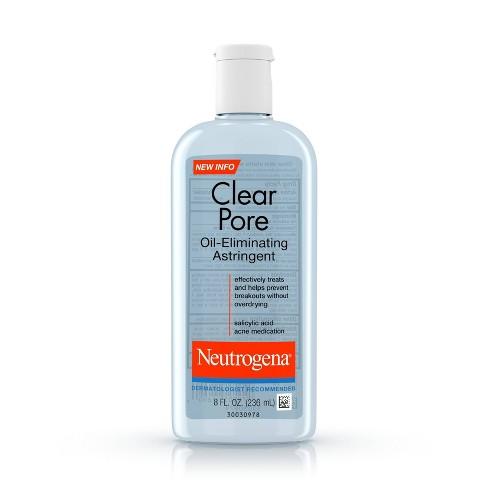 Neutrogena Clear Pore Oil-Eliminating Astringent - 8oz - image 1 of 4