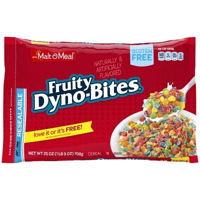 Fruity Dyno-Bites Breakfast Cereal - 25oz - Malt-O-Meal