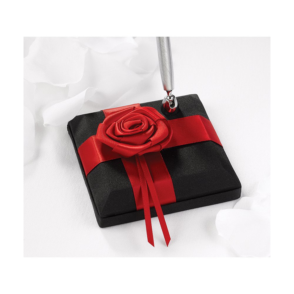Image of 1pc Midnight Rose Wedding Collection Pen Set