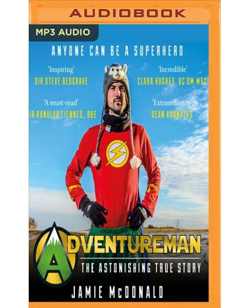 Adventureman : Anyone Can Be a Superhero -  by Jamie McDonald (MP3-CD) - image 1 of 1