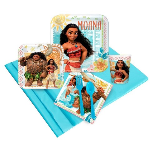 Disney Moana 16 Guest Party Pk - image 1 of 1