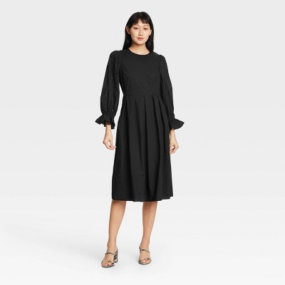 Women's Balloon Long Sleeve A-Line Dress - Who What Wear™