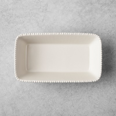 Stoneware Loaf Pan - Cream - Hearth & Hand™ with Magnolia