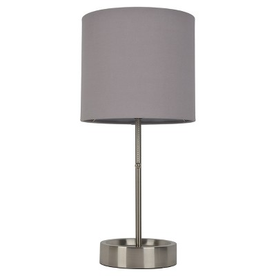 Stick Lamp Gray Lamp Only - Room Essentials™