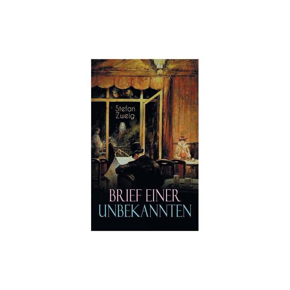 Brief Einer Unbekannten By Stefan Zweig Paperback