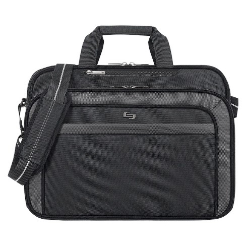 "Solo 17"" Pro-Sterling Briefcase - Black/Gray - image 1 of 5"