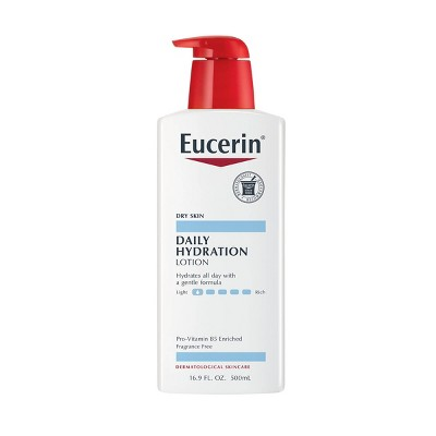 Body Lotions: Eucerin Daily Hydration Lotion