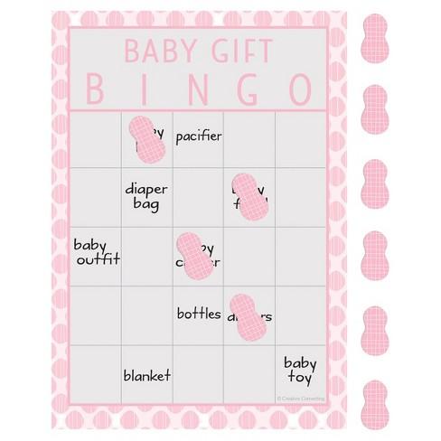 10ct Little Peanut Girl Elephant Baby Shower Bingo Target