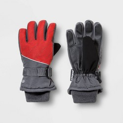 Boys' Promo SKI Gloves with Reflective - C9 Champion® Gray
