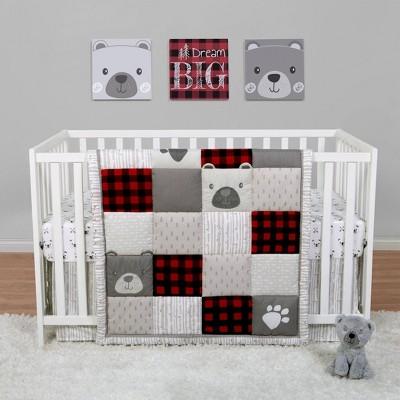 Sammy & Lou Up North Crib Bedding Set - 4pc