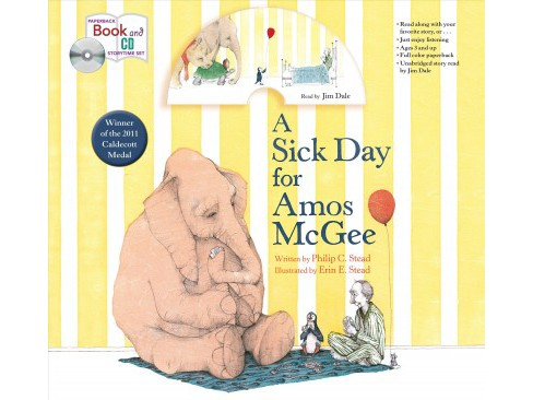 Sick Day for Amos Mcgee -  by Philip C. Stead (Paperback) - image 1 of 1