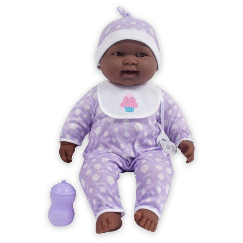 "JC Toys Lots to Cuddle Babies 20"" Soft Body African American Baby Doll - image 1 of 1"