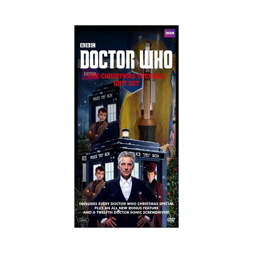 Doctor who:Christmas specials (Dvd)