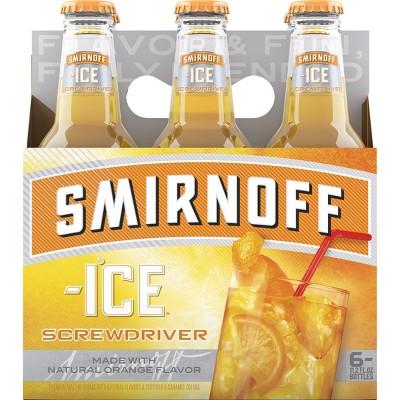 Smirnoff Ice Screwdriver - 6pk/11.2 fl oz Bottles