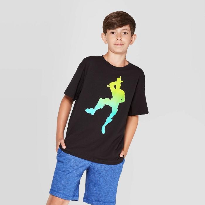 Fortnite Boys' L Dance Short Sleeve T-Shirt - Black - image 1 of 3