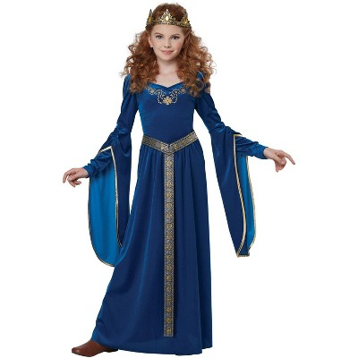 California Costumes Sapphire Medieval Princess Child Costume